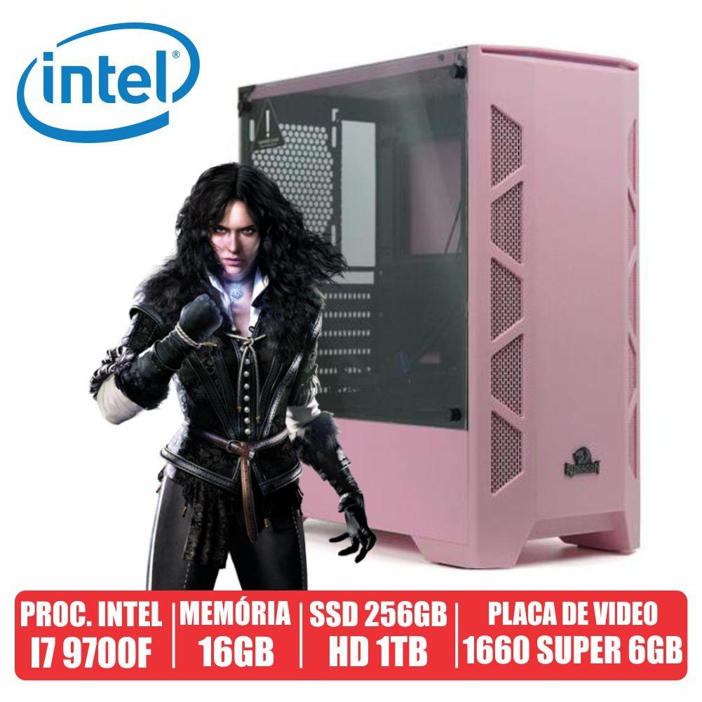 Pc Gamer M82B Intel i7 9700F 16gb Ssd 256gb + Hd de 1tb Gtx 1660 Super 6gb 600w 80 Plus