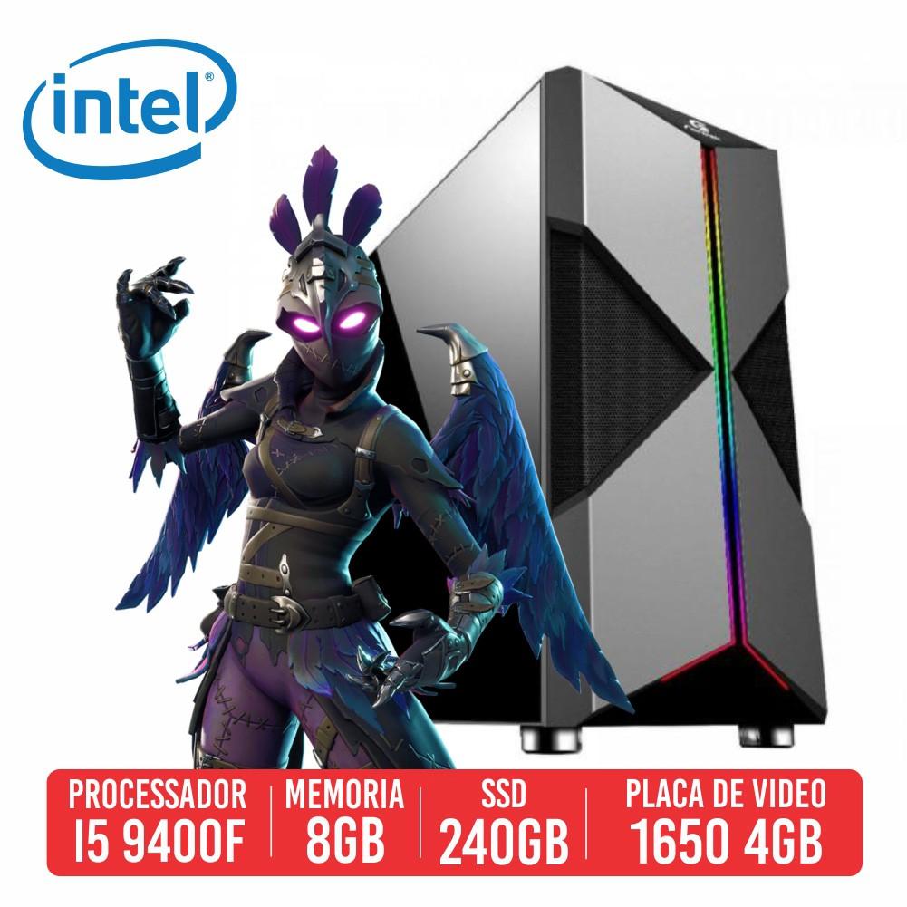PC Gamer VSS Intel I5 9400F 8GB SSD 240GB GTX 1650 4GB 500W