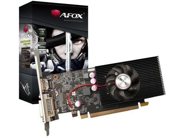 Placa de Vídeo Afox NVIDIA GeForce GT 1030 - 2GB GDDR5 64 bits AF1030-2048D5L5-V2