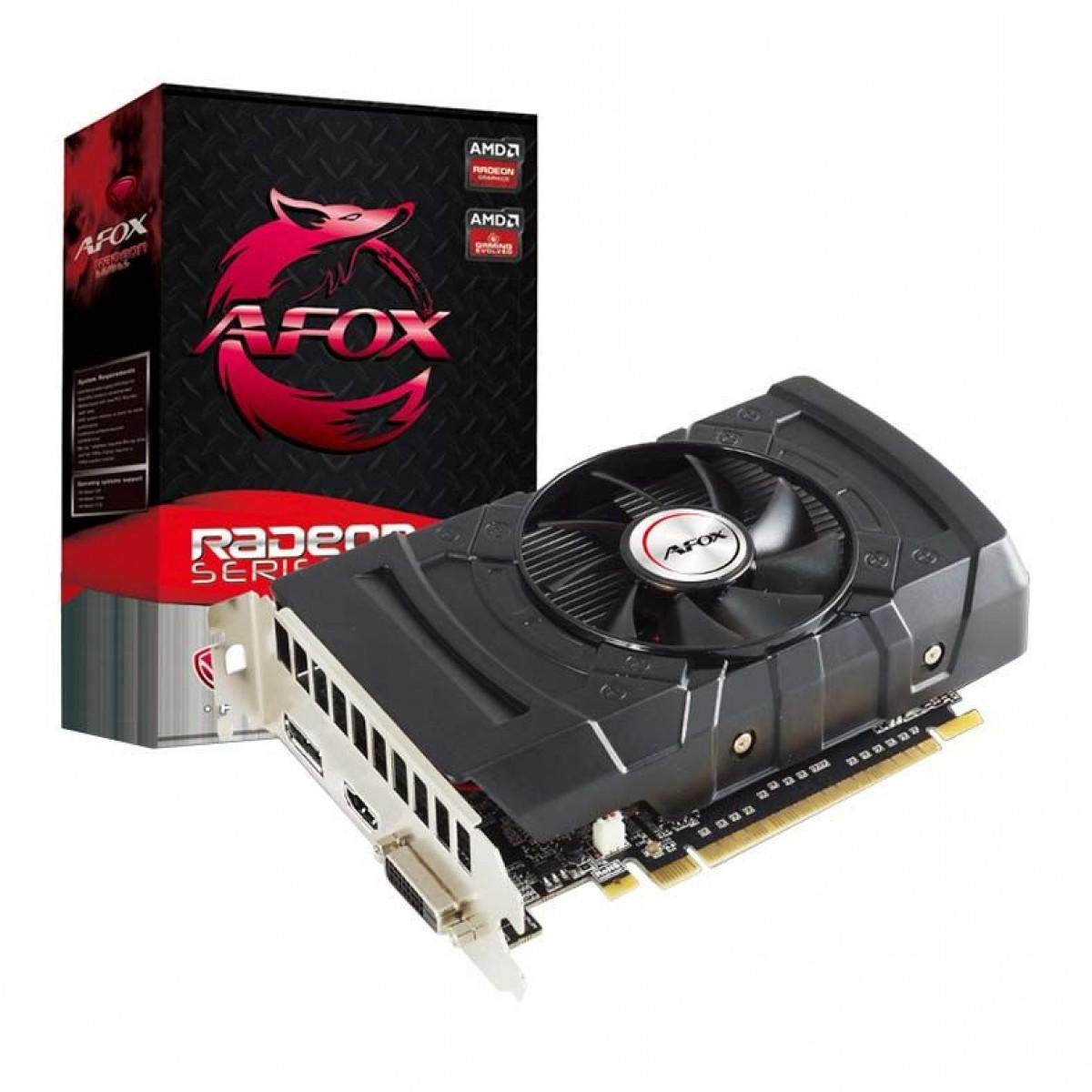 Placa de Vídeo Afox Radeon RX 550 2GB GDDR5, 128Bit, AFRX550-2048D5H3
