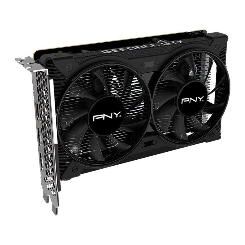 Placa de Video PNY GeForce GTX 1650 4GB GDDR6 128-bits dual fan - GMX1650N3J4FP2AKTP-TF