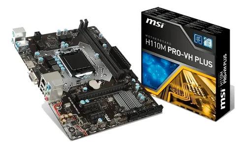 Placa Mae Msi H110m Pro-vh Plus Ddr4 Lga 1151