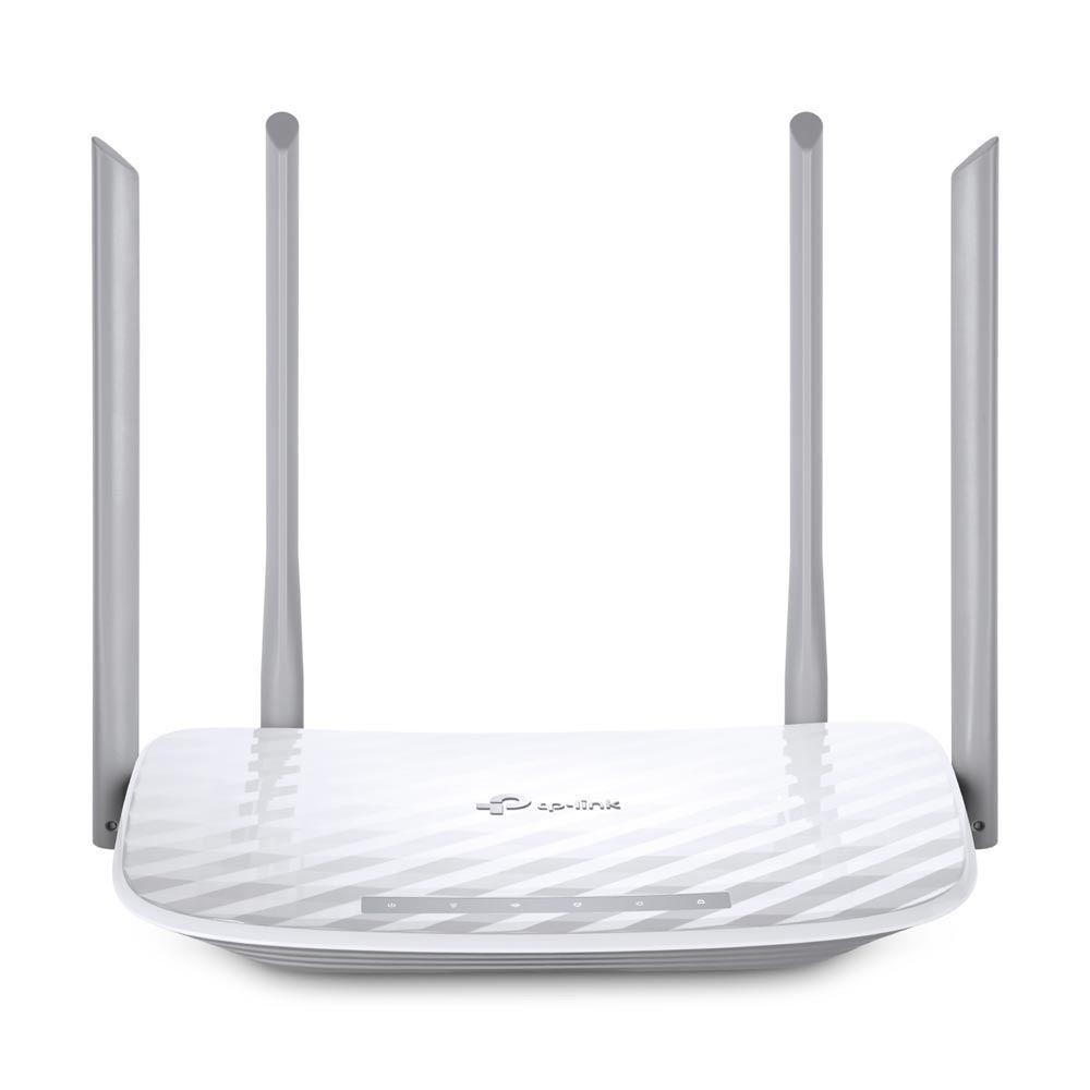Roteador TP-Link Wireless Dual Band AC1200 com 4 antenas Branco - Archer C50