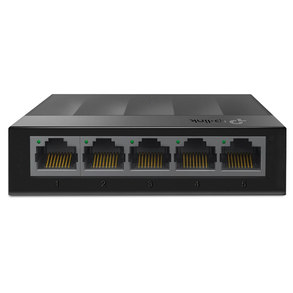 Switch TP-Link 5 Portas Gigabit 10/100/1000Mbps - LS1005G