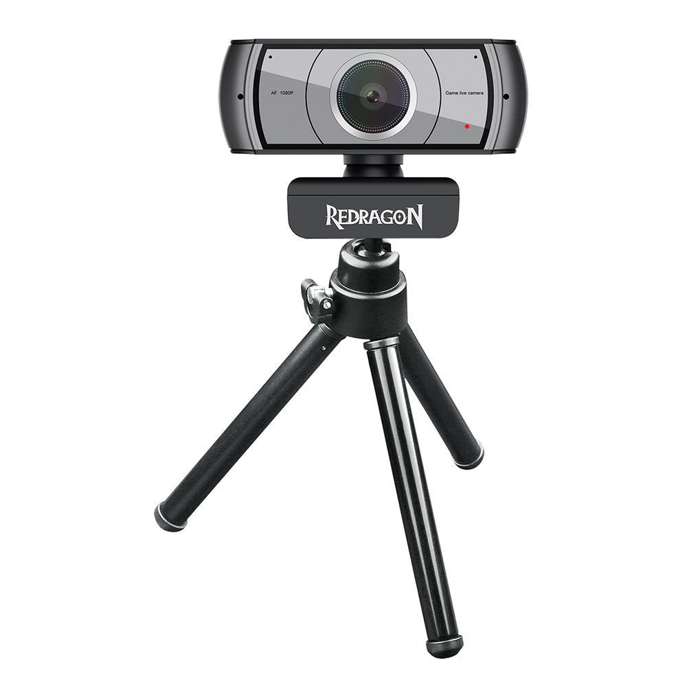 Webcam Redragon Streaming Apex USB Full HD 1080P - GW900