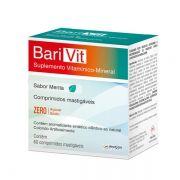 Barivit Sabor Menta com 60 Comprimidos Mastigáveis