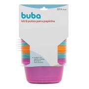 Kit 6 Potes para Papinha BUBA