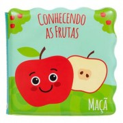 Livrinho de Banho BUBA - Conhecendo as Frutas 6m+