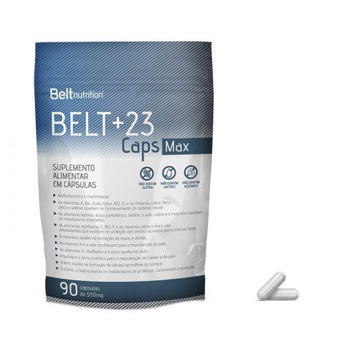 Belt +23 Caps Max  - 90 cápsulas
