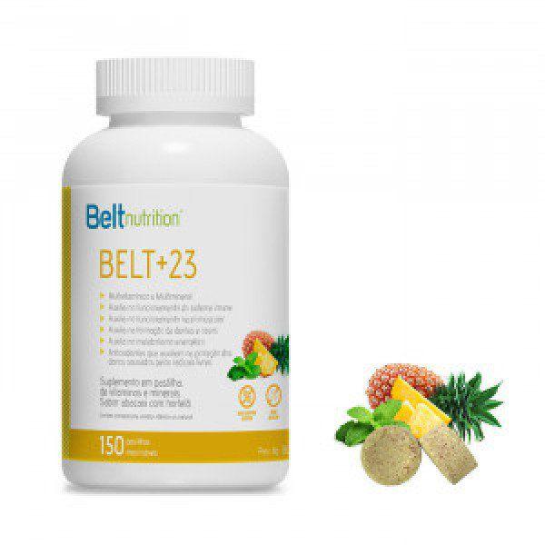 BELT +23 SABOR ABACAXI COM HORTELÃ MULTIVITAMÍNICO E MULTIMINERAL - 150 PASTILHAS