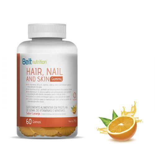 Belt Hair, Nail and Skin Gummy - Sabor Laranja
