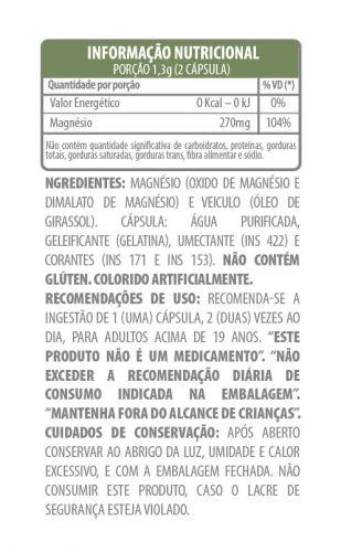 Belt Magnesium - 60 cápsulas gelatinosas