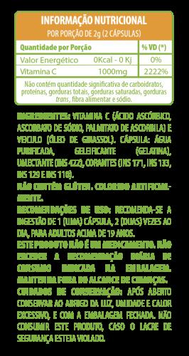 Betl Vitamina C Blend - 60 cápsulas gelatinosas
