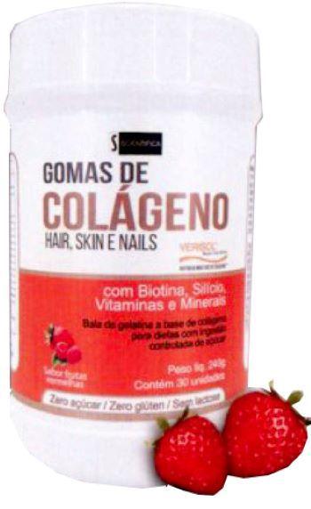 Gomas de Colágeno - Scientífica - 240 GR