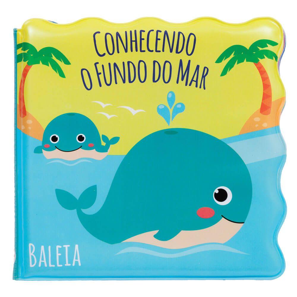 Livrinho de Banho BUBA - Conhecendo o Fundo do Mar 6m+