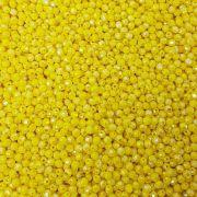 Bolinha Acrílica Lapidado 6mm 100g (Amarelo)