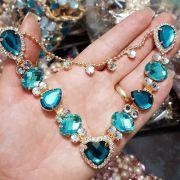 Cabedal Luxo V - Coração de Pedra (Verde Kentucky)