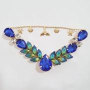 Cabedal Luxo V - Siren Especial (Azul Royal)
