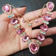 Cabedal Similar V - Coração de Pedra (Rosa)