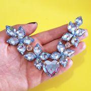 Cabedal Similar V - Estrelado do Amor (Azul Marinho Transparente)