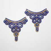 Cabedal Tecido - Rainha (Azul)