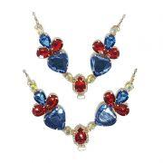 Cabedal V - O Coração do Oceano (Azul Marinho)