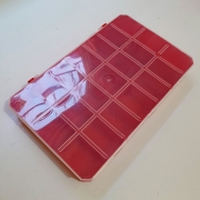 Caixa Organizadora 21 Divisórias (Vermelho)