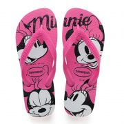 Chinelo Havaianas Top Disney Minnie (Rosa)