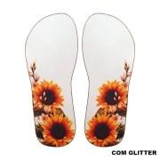 Lonita Sublimada Glitter - Girassol Simples