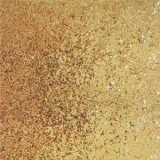Lonita Tecido - Glitter Granulado (Dourado)