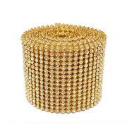 Manta Strass 5cm x 120cm (Dourado)
