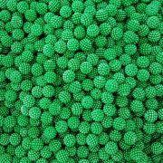 Pérola Craquelada ABS 11mm 100g (Verde)