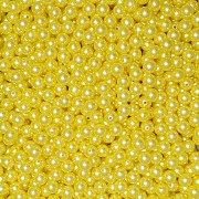 Pérola Inteira ABS 10mm 100g (Amarelo)