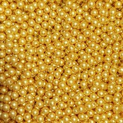 Pérola Inteira ABS 10mm 100g (Dourado)