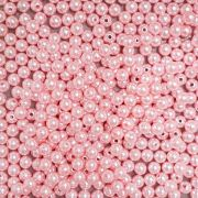 Pérola Inteira ABS 10mm 100g (Rosa)