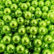 Pérola Inteira ABS 10mm 50g (Verde Limão)
