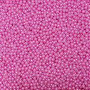 Pérola Inteira ABS 6mm 100g (Rosa)
