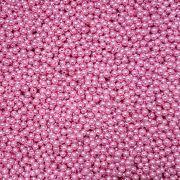 Pérola Inteira ABS 6mm 100g (Rosa Escuro)