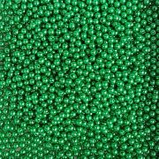 Pérola Inteira ABS 6mm 100g (Verde Natal)