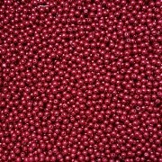 Pérola Inteira ABS 6mm 100g (Marsala)