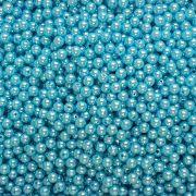 Pérola Inteira ABS 8mm 100g (Azul Água Doce)