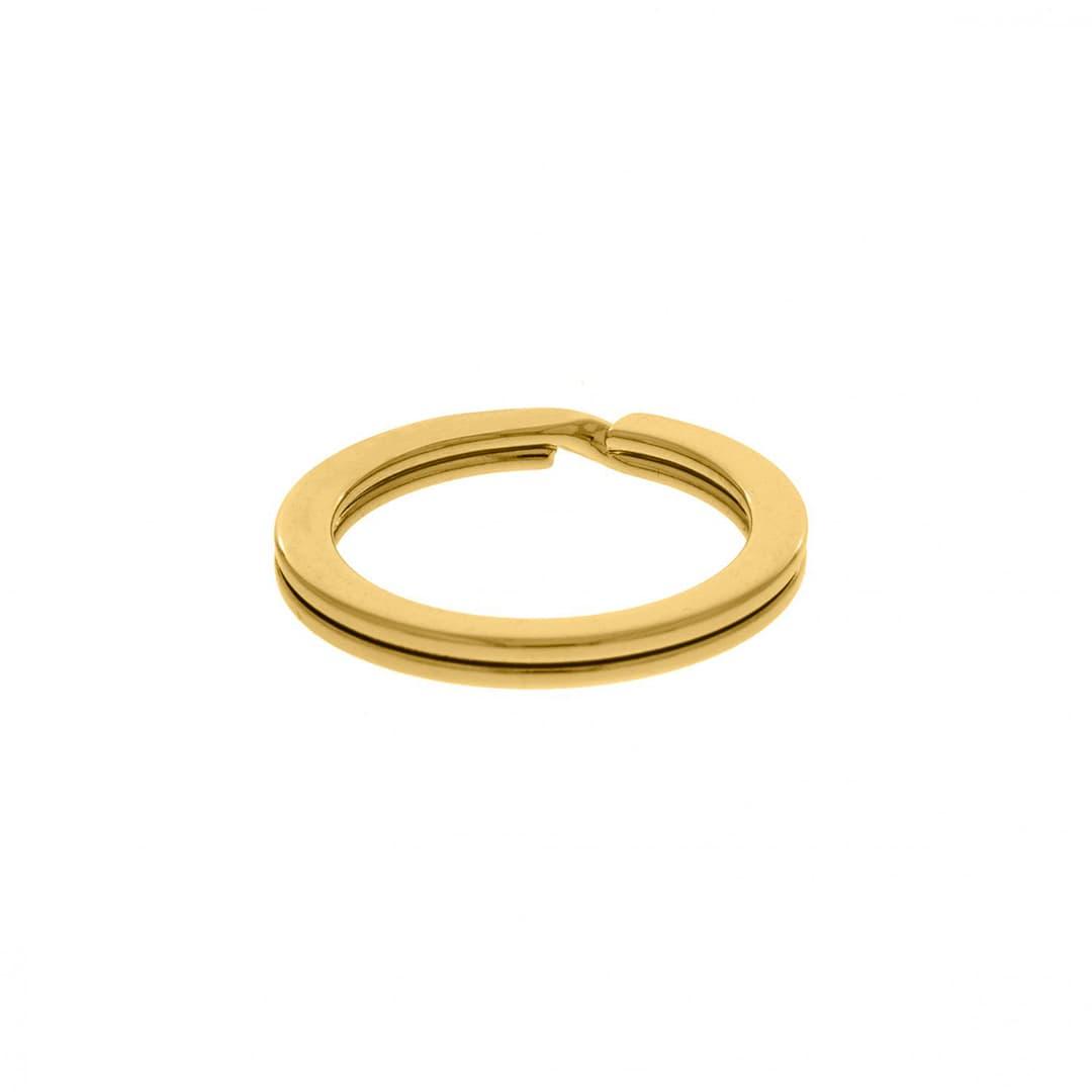 Argola Metal Chaveiro 23mm (Dourado)