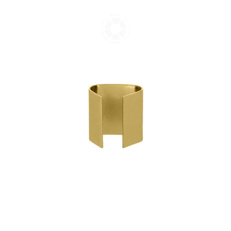Braçadeira Chapa 14mm (Dourado)