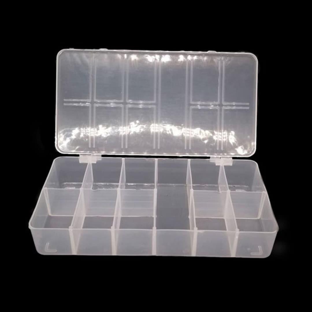 Caixa Organizadora 11 Divisórias (Transparente)