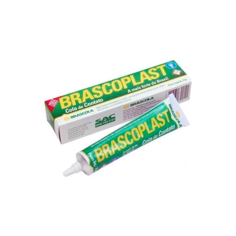 Cola Contato Brascoplast Multiuso 75g (Com Tolueno)