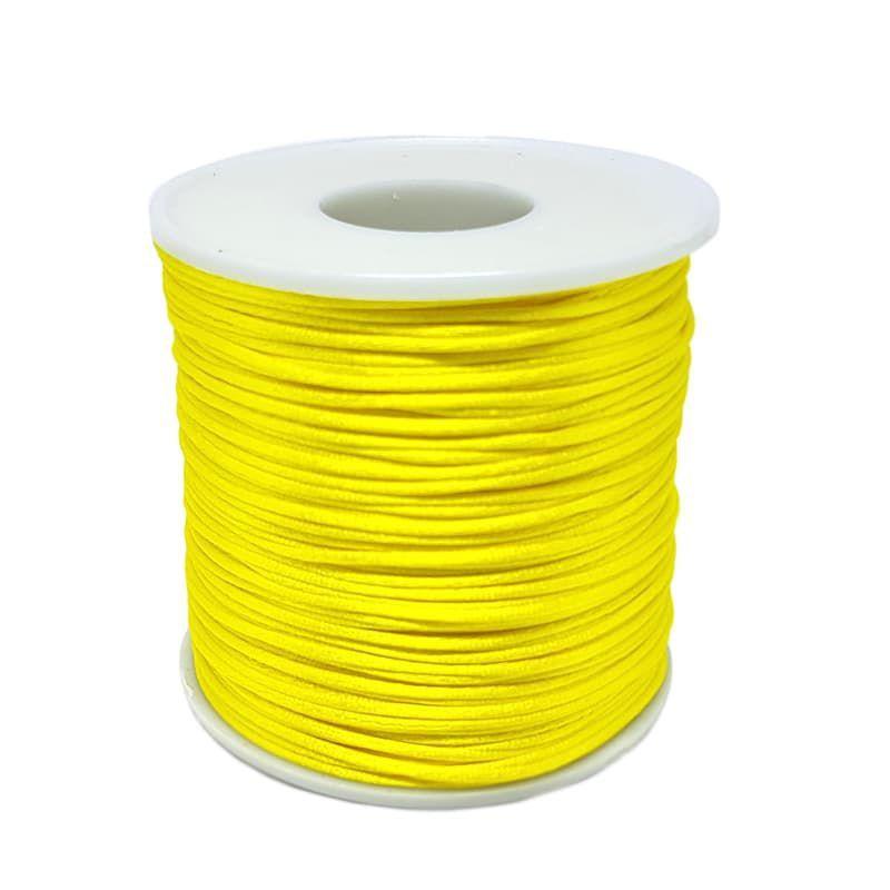 Fio de Seda 1mm 100mt (Amarelo)