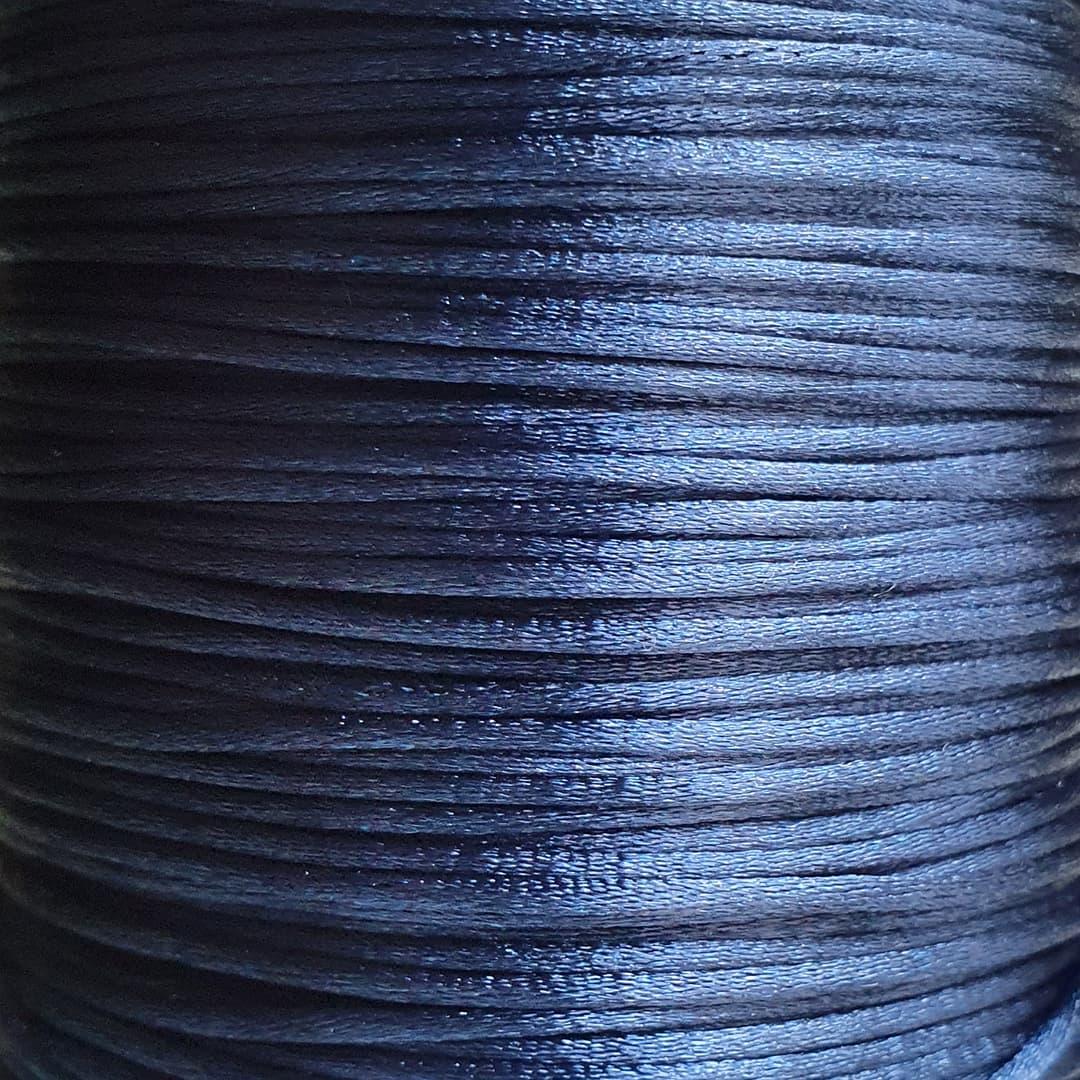 Fio de Seda 1mm 100mt (Azul Marinho)