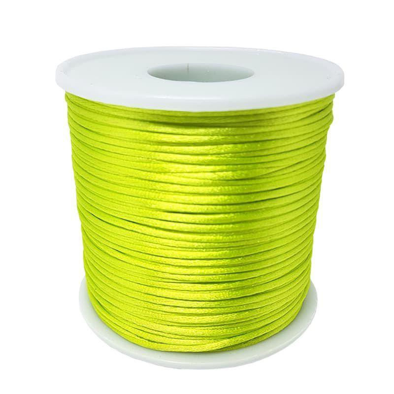 Fio de Seda 1mm 100mt (Verde Limão)