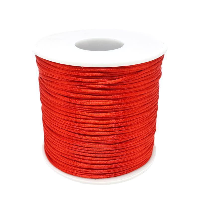 Fio de Seda 1mm 100mt (Vermelho)