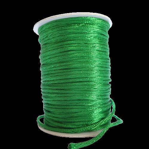 Fio de Seda 1mm 50mt (Verde Bandeira)